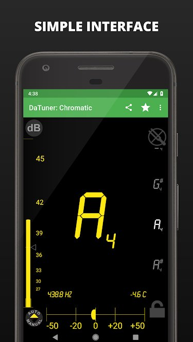 Datuner best app on Android